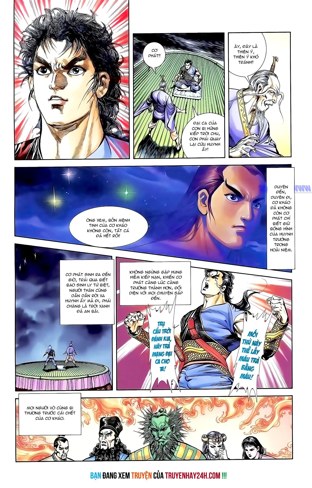 Cơ Phát Khai Chu Bản chapter 149 trang 28