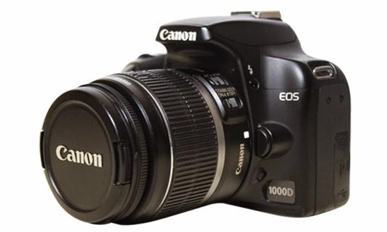 Daftar Harga Kamera DSLR Canon EOS 1000D dan Spesifikasi Lengkap