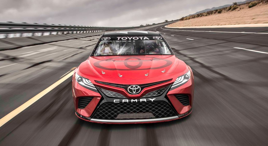 2018 toyota camry race car toyota overview. Black Bedroom Furniture Sets. Home Design Ideas