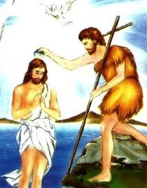 Imagen del Bautizo de Jesús