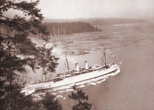 Empress of India Canadian Pacific Steamships