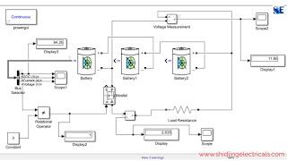 Discharging circuit of lithium-ion battery