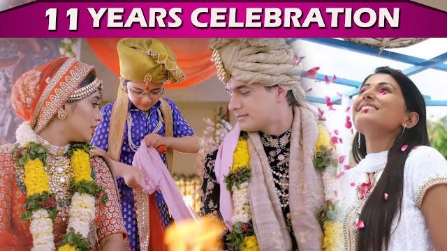 WOW! Yeh Rishta Kya Kehlata Hai celebrates 11 years of success, Mohsin Khan and Shivangi Joshi congratulates team