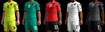 PES 2013 Albania GDB Euro 2016 by ABIEL