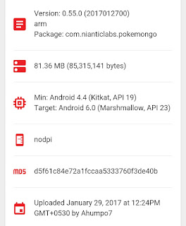 Pokemon Go v0.55 Apk Update with Korean Language Support