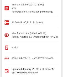 Pokemon Go v0.55 Apk Update with Korean Language Support