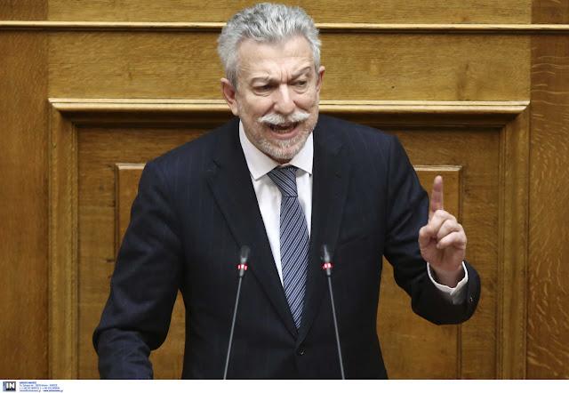 """Κοντονής για ΣΥΡΙΖΑ: Με """"πυροβολούν"""" αντί να αναλάβουν την πολιτική ευθύνη"""