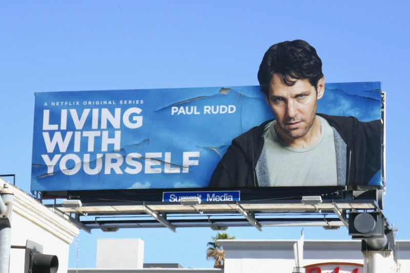 Living With Yourself Paul Rudd billboard