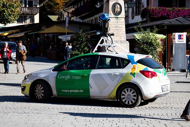 carro do google maps