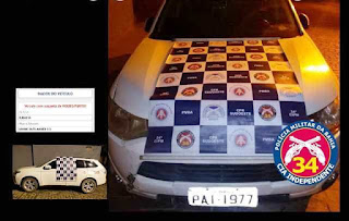 Carro com restrição de furto/roubo