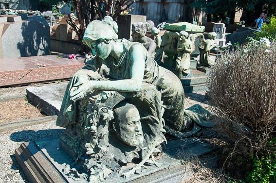 Cementerio de Milan. 5 cementerios para pasar la noche de Halloween