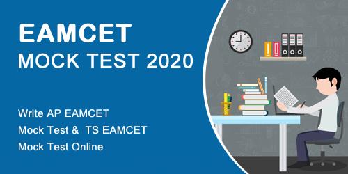 Eamcet Mock Test 2020