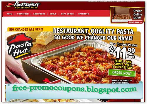 Coupons for pizza hut online 2018
