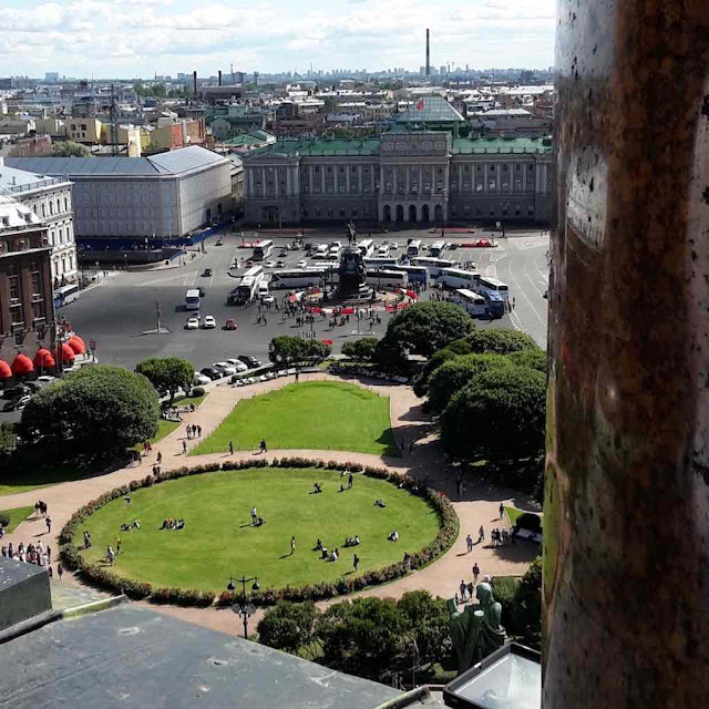 St. Isaac's Square from St. Isaac's Cathedral