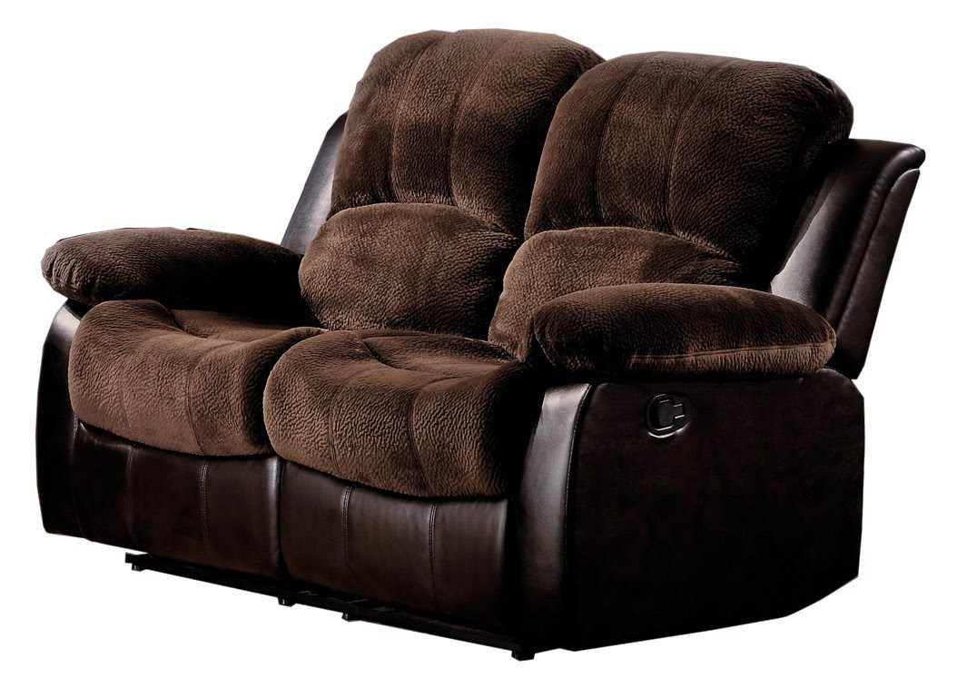 Cheap Reclining Sofas Sale: 2 Seater Leather Recliner Sofa