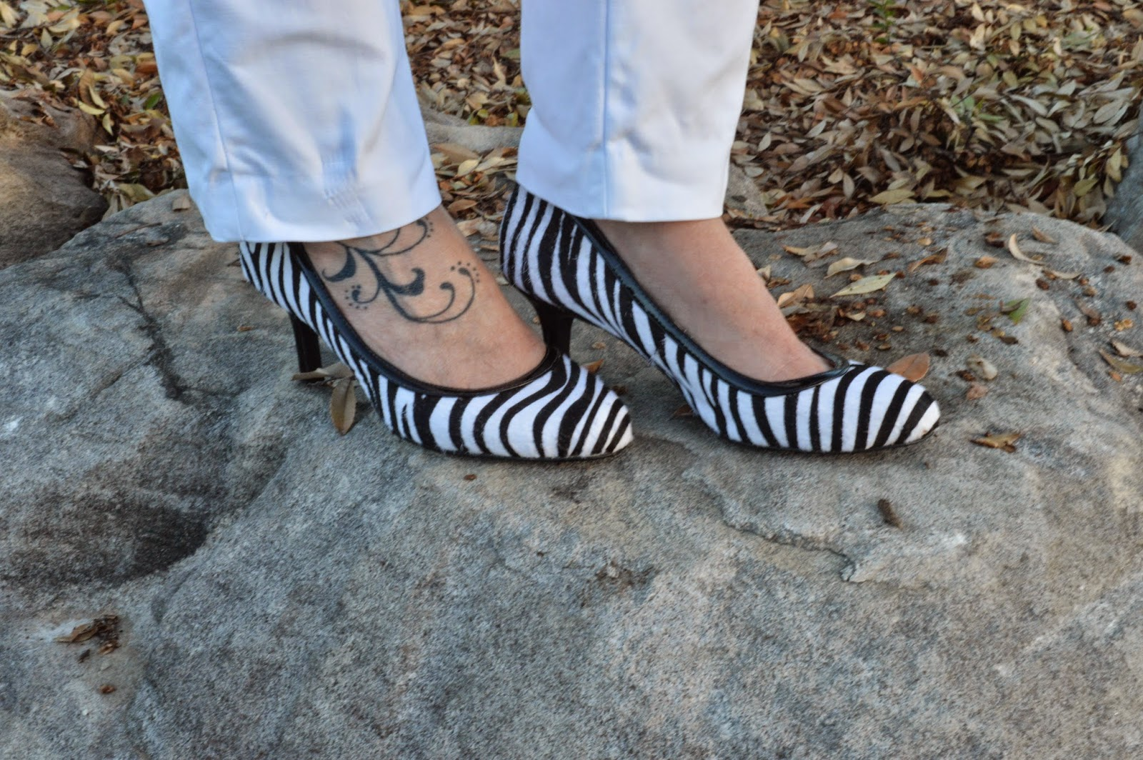 Shoes of Prey Zebra Pumps