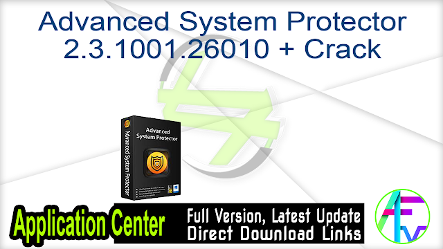 Advanced System Protector 2.3.1001.26010 + Crack