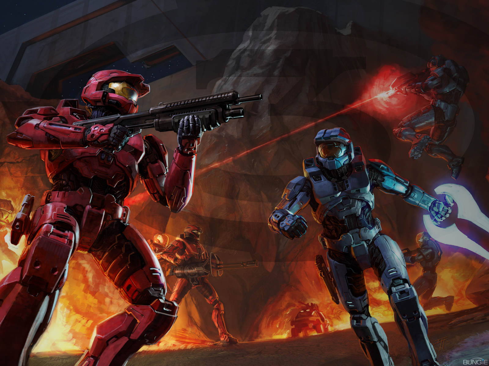 Wallpapers HD: Wallpapers De Halo 1, 2, 3 (17) Fondos De