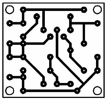 Printed Circuit Alternating Lamps