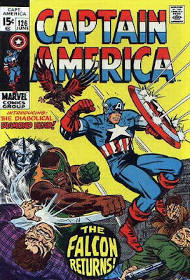 Captain America #126, Diamonhead