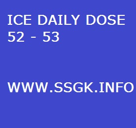 ICE DAILY DOSE 52 - 53