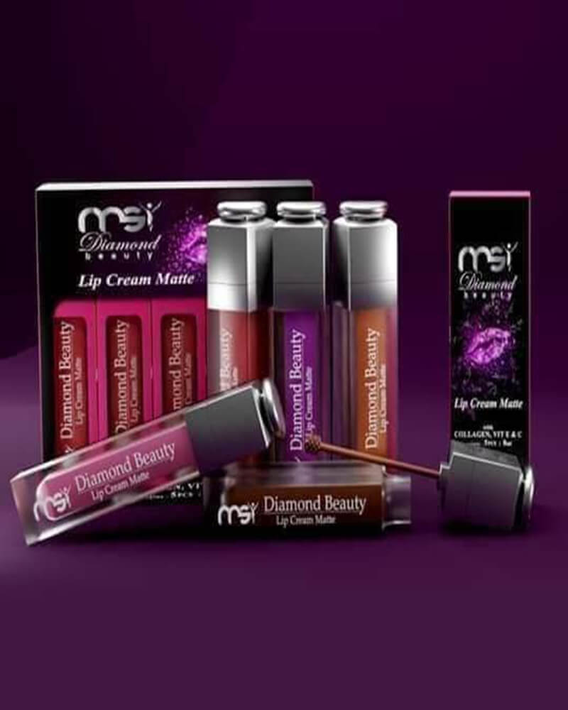 Lip Cream Matte MSI Diamond Beauty