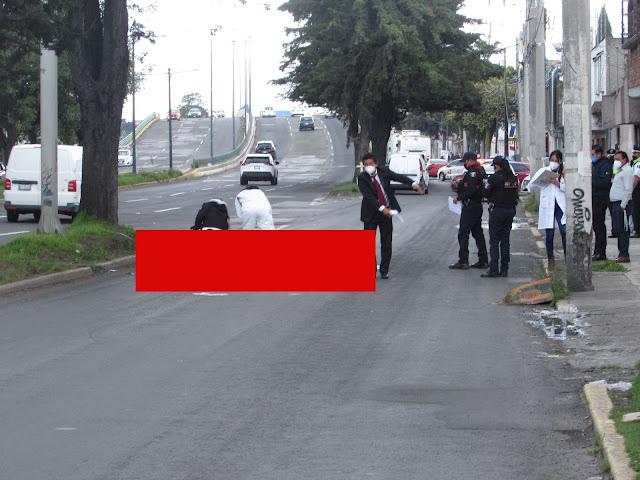 LAMENTABLE: Muere hombre atropellado bajo un puente peatonal; el responsable se fugó