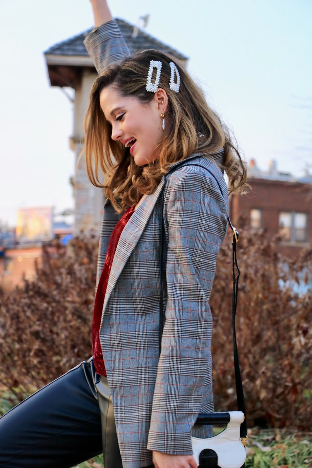 Nyc fashion blogger Kathleen Harper's Valentine's Day outfit.