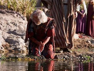 незабавно се кръстиха той и домашните му