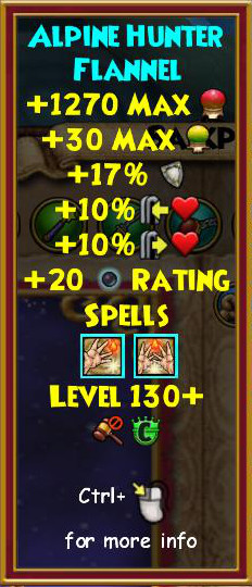 Wizard101 Yule Logger Pack
