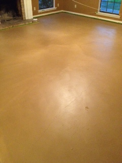 Old Souls Amp Gypsy Hearts Diy Stained Concrete
