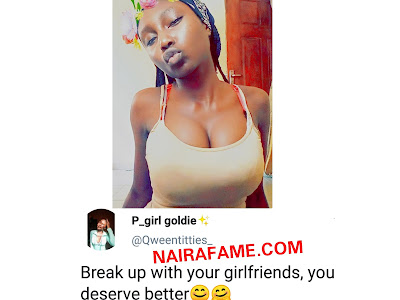 Huge Water Melon! Nigerian Lady Blast A Lady Who Put On Two Push Up Bra. PHOTOS