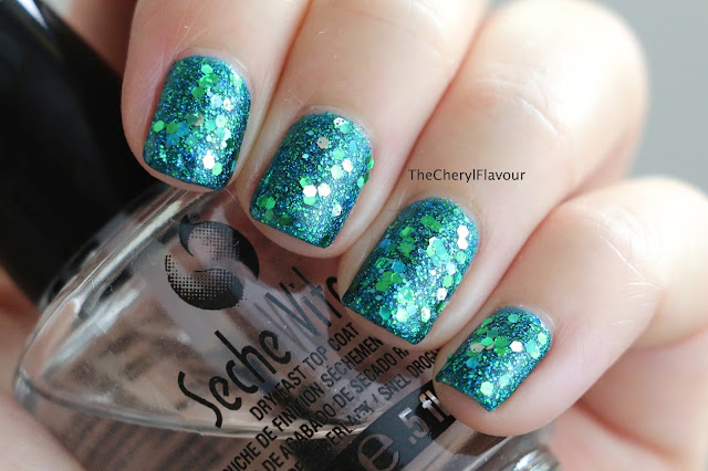 Mermaid Tale Nail Art