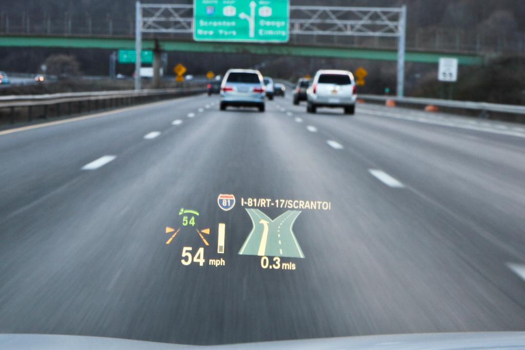 hud head up displays windshield projection technologies. Black Bedroom Furniture Sets. Home Design Ideas