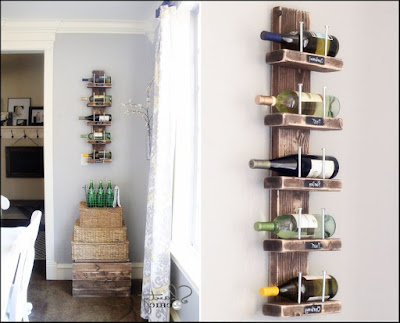 Diy shelves wall Small spaces