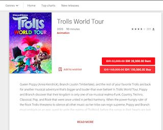 pembelian film di google play - kanalmu