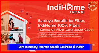 cara memasang internet di rumah
