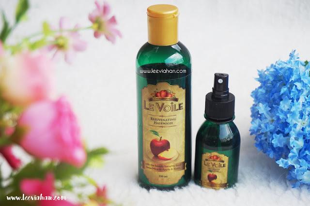 Le Voile, Le Voile Shampoo, Shampoo,Hair Tonic, Perawatan RAmbut, Hair Care, Perawatan Rambut Rusak