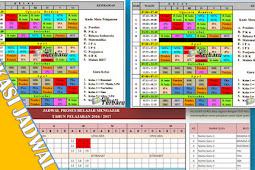 Free Download Aplikasi Jadwal Pelajaran Excel