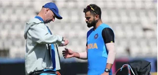 WORLD CUP 2019 : टीम इंडिया के लिए एक बुरी खबर विराट कोहली जख्मी हुए