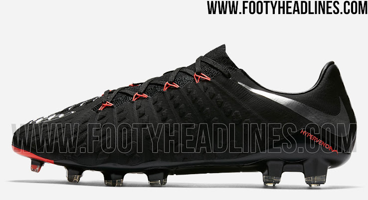 97fb81e7116 Nike Hypervenom Phantom III Strike Night - Black   Anthracite   Hyper Orange