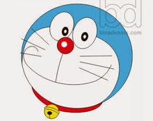 Menggambar Doraemon dengan Corel Draw