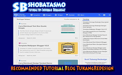Website Tutorial Blogger Recommended Bagi Blogger Pemula