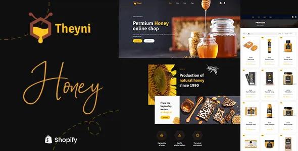 Best Organic Food, Honey Shop Shopify Theme