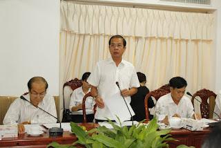 Phó Chủ tịch UBND TP Cần Thơ Nguyễn Thanh Dũng chủ trì cuộc họp chiều 19-5