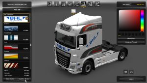 BHL Transporti Skin for DAF Euro 6