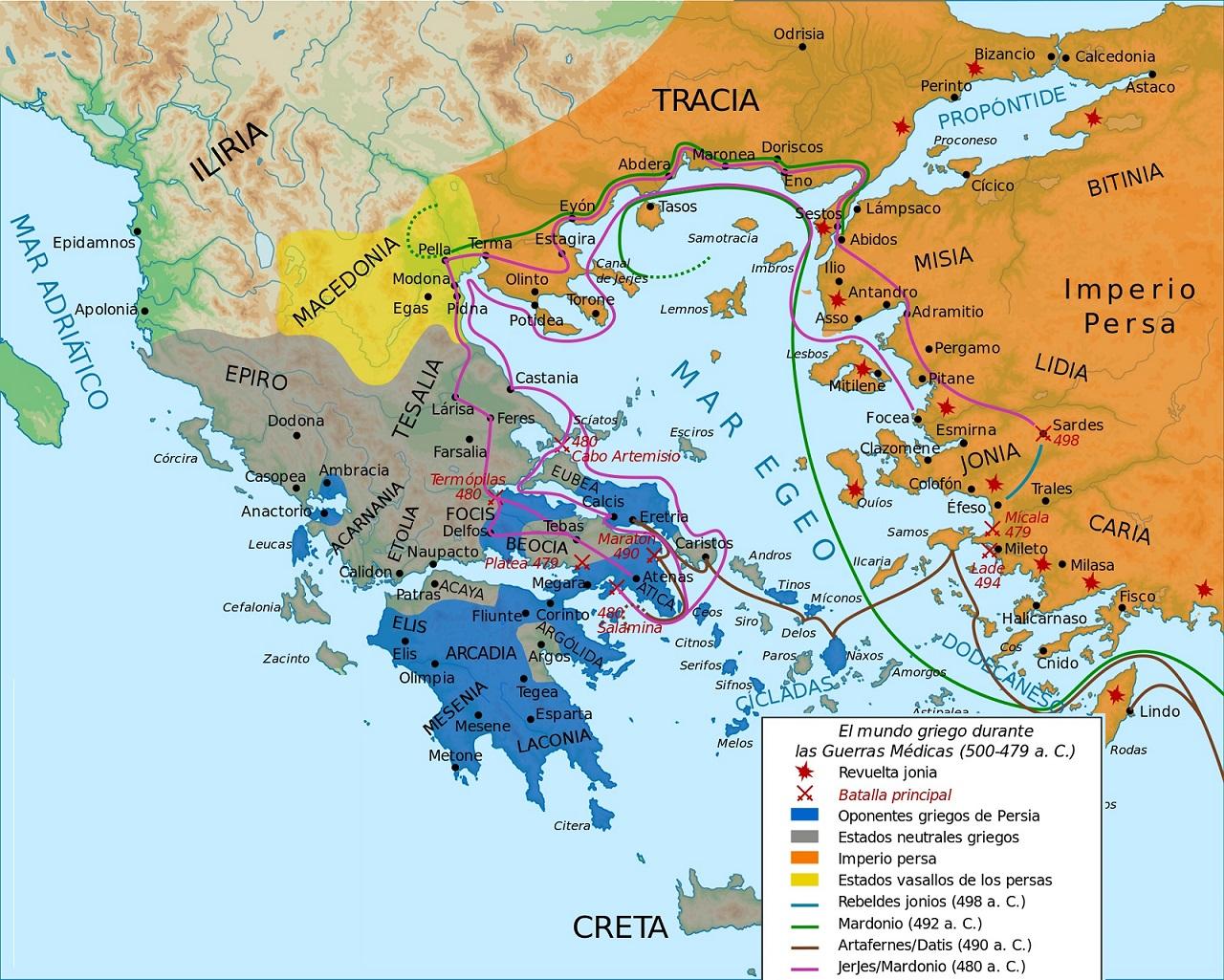 Historia De Grecia De La Edad Arcaica A La Edad Clasica Algargos Web Resumen De Arte Historia Y Geografia