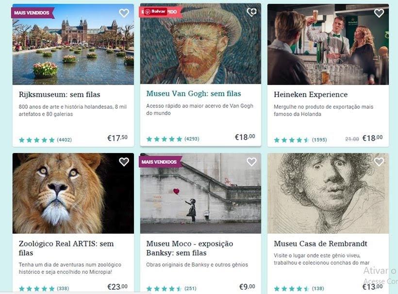 Tiqets - Ingressos online: passeio, transfer e tour