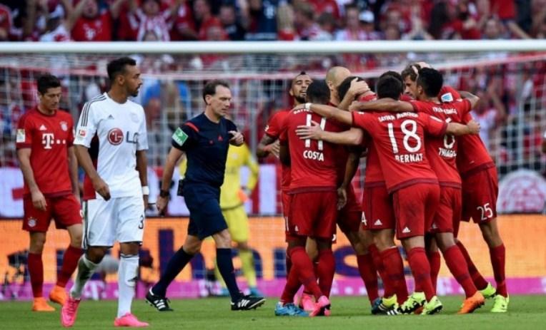 Bayer Leverkusen vs Bayern Munich Bundesliga Germany