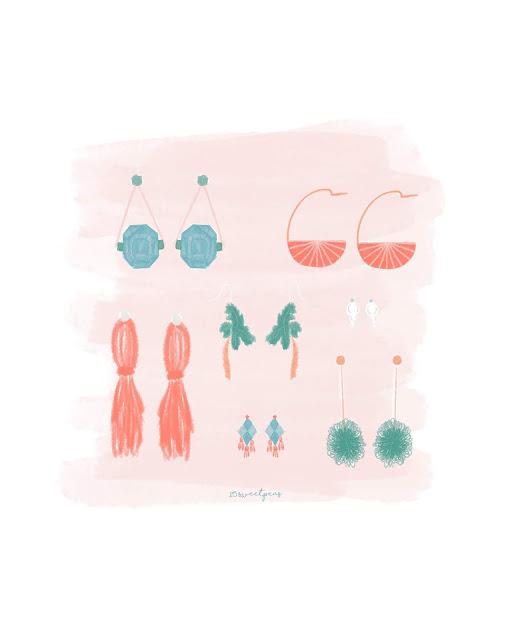 25 Sweetpeas Earrings